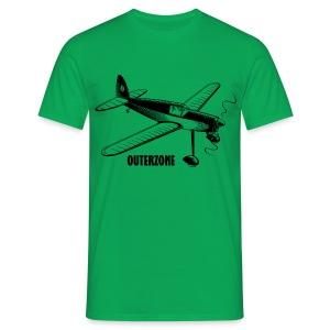 Outerzone t-shirt, black logo - Men's T-Shirt