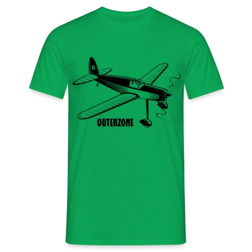 Outerzone t-shirt, black logo - Men's T-Shirt