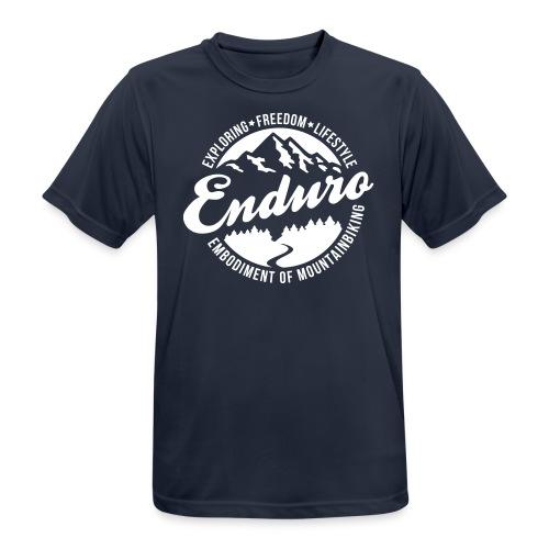 Enduro Mountainbiking T-Shirt - Männer T-Shirt atmungsaktiv