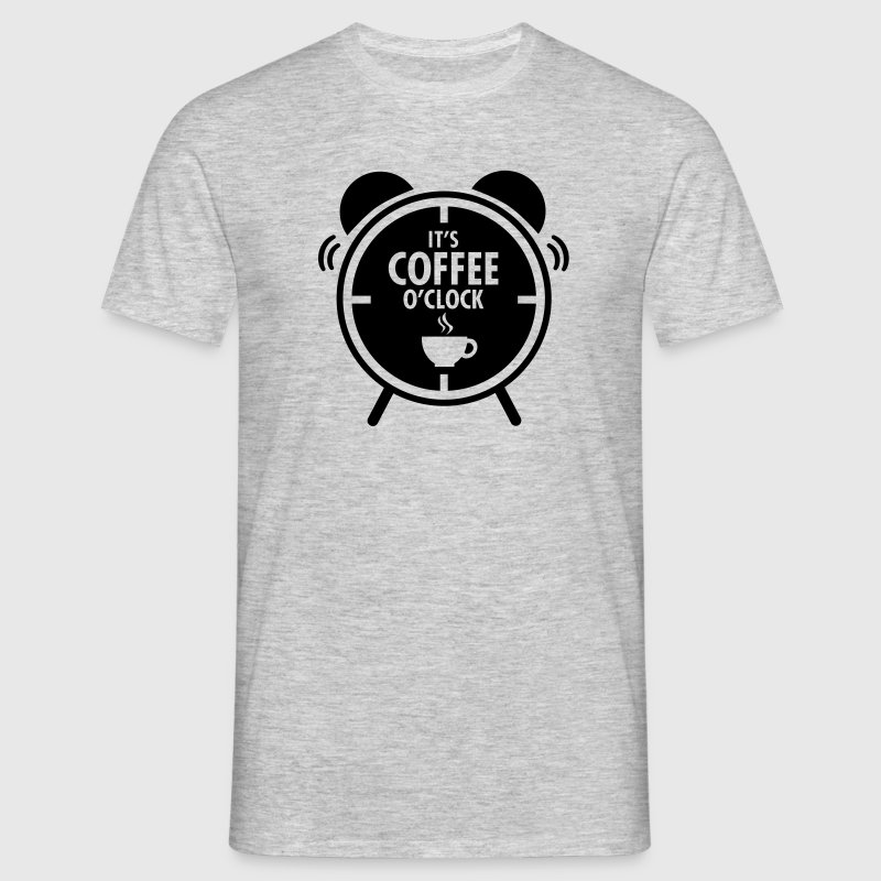 It's Coffee O'Clock T-shirts - Mannen T-shirt