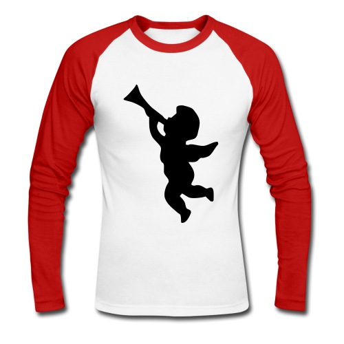 TMAC Angel Baseball Shirt - Men's Long Sleeve Baseball T-Shirt