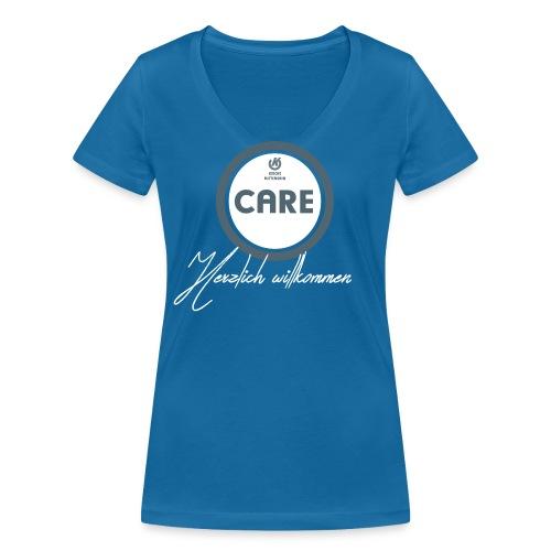 Frauen: CARE-TEAM  - Frauen Bio-T-Shirt mit V-Ausschnitt von Stanley & Stella