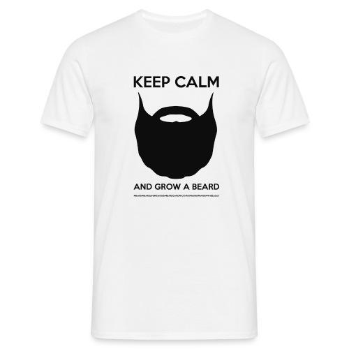 KEEP CALM LOGO NOIR - T-shirt Homme