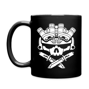 LIGHTS OUT black Mug - Full Colour Mug