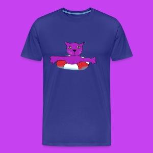 Purple Cat Piscines - Men's Premium T-Shirt