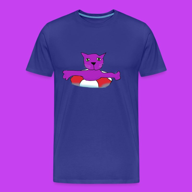 Purple Cat Piscines - Men's Premium T-Shirt