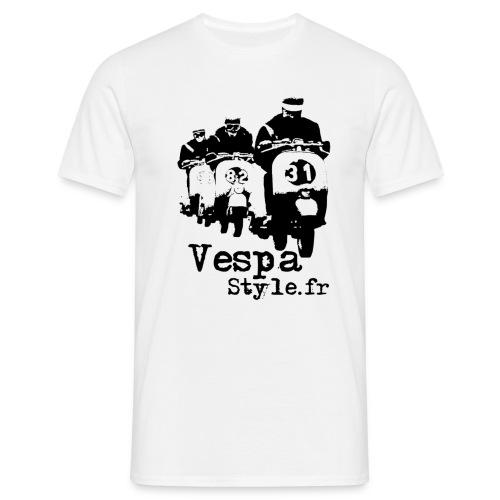 T-shirt Vespastyle - T-shirt Homme