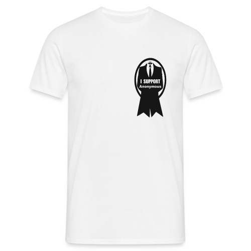 Anonymous support - T-shirt Homme