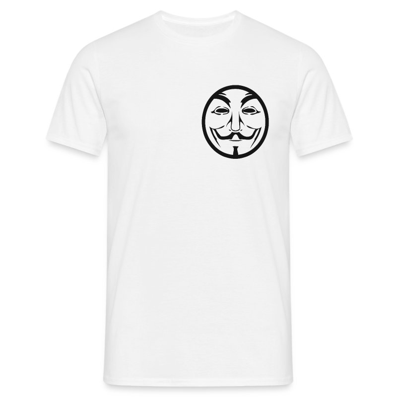 Anonymous coin - T-shirt Homme