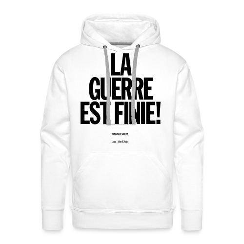 Men's Pullover (French) - Men's Premium Hoodie