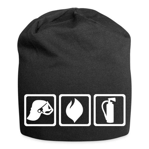 Fire Symbols - Mütze - Jersey-Beanie