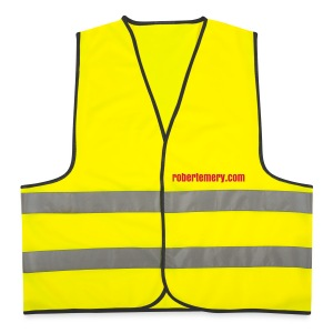 James & Nicholson Reflective High-Vis Jacket - Reflective Vest