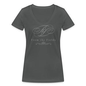 FtF logo - Women's Organic V-Neck T-Shirt by Stanley & Stella