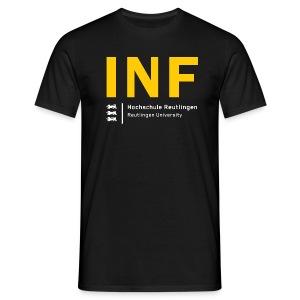 INF T-Shirt Männer schwarz - Männer T-Shirt