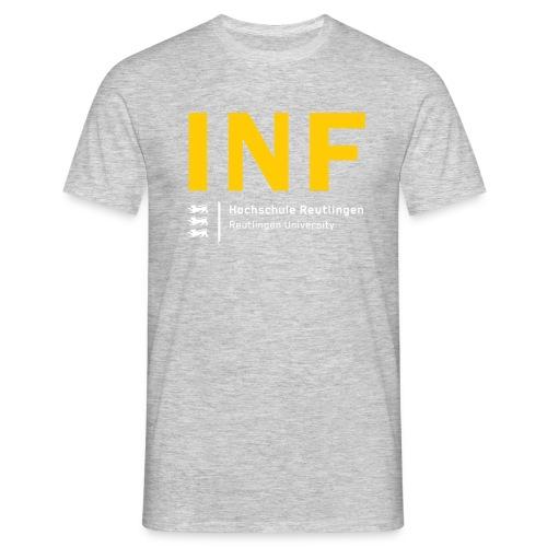 INF T-Shirt Männer grau - Männer T-Shirt