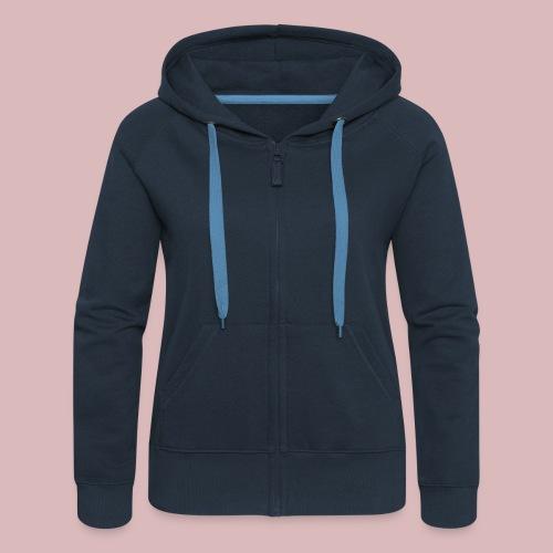 Navy Jacke Women - Frauen Premium Kapuzenjacke