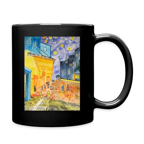 Nachtcafé, Tasse einfarbig aus Keramik - Tasse einfarbig