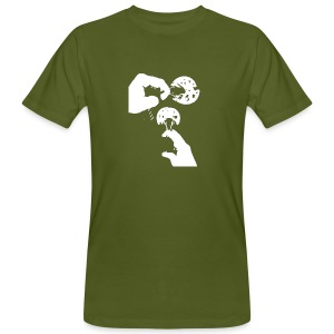 Rock Climbing Face Shirt - Men's Organic T-shirt