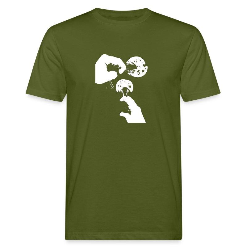 Rock Climbing Face Shirt - Men's Organic T-shirt