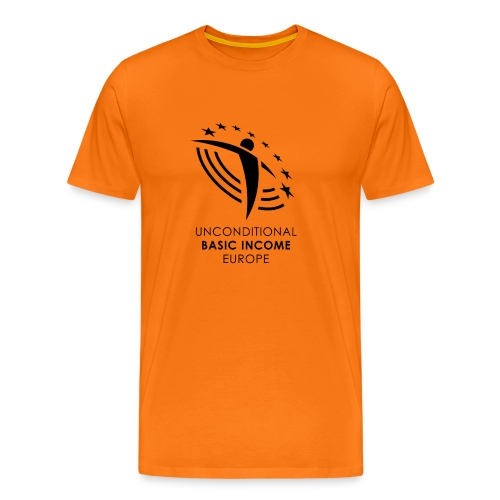 UBIE man shirt orange - Men's Premium T-Shirt