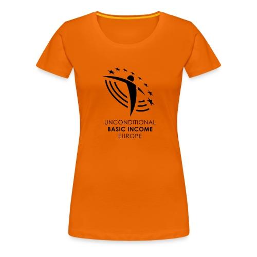 UBIE woman shirt orange  - Women's Premium T-Shirt