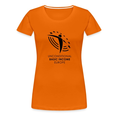 UBIE woman shirt orange  - Women's Premium T-Shirt