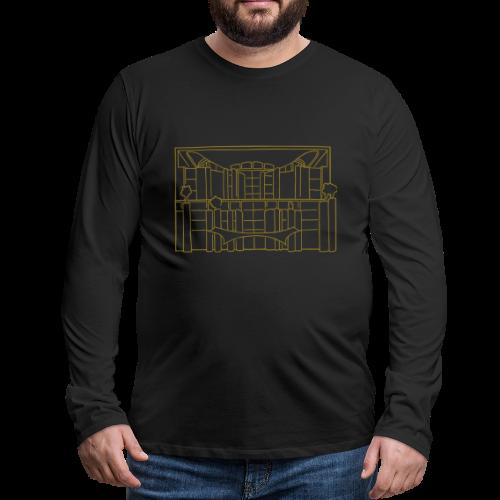 Waschmaschine (Kanzleramt) - Männer Premium Langarmshirt
