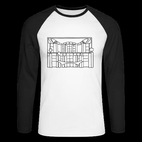 Waschmaschine (Kanzleramt) - Männer Baseballshirt langarm