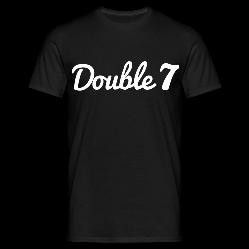Double 7 Shirt - Simple Look - Männer T-Shirt