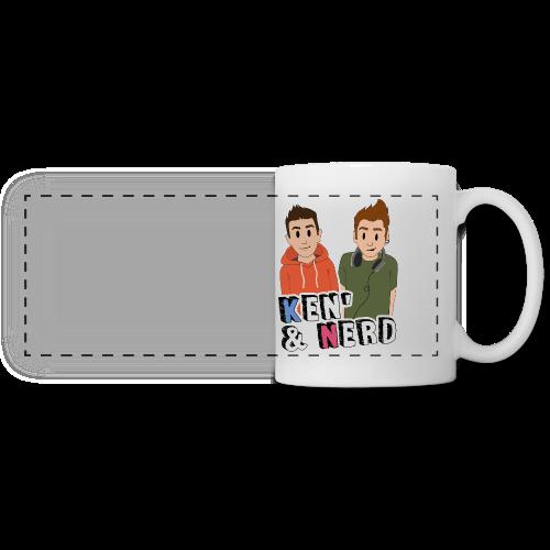 Mug Ken&Nerd - Mug panoramique contrasté et blanc