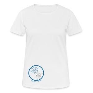 T-Shirt Damen atmungsaktiv Pusteblume PCD unten - Frauen T-Shirt atmungsaktiv