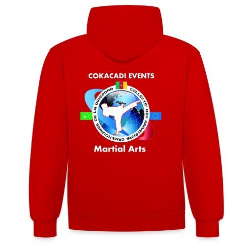 Sweat Martial Arts Premium D 2015 - Sweat-shirt contraste