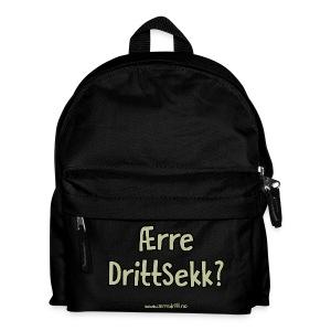 Ærre DrittSekk? - Ryggsekk for barn