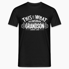awesome grandson looks like pro design t-shirt