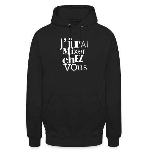 sweat mix jmcv - Sweat-shirt à capuche unisexe