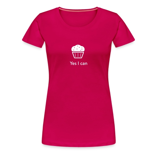 Monster-Cupcake T-Shirt by mySugr - Women's Premium T-Shirt