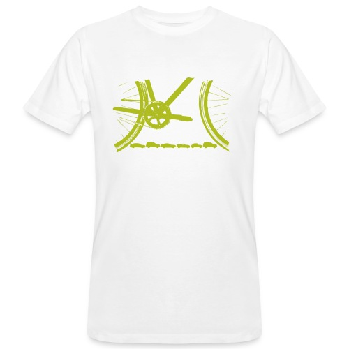 Bicycle Organic T Shirt - Men's Organic T-Shirt