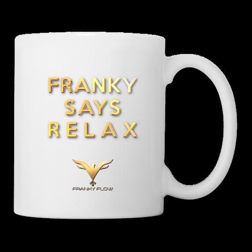 FRANKY SAYS RELAX (white / right-hander) - Tasse