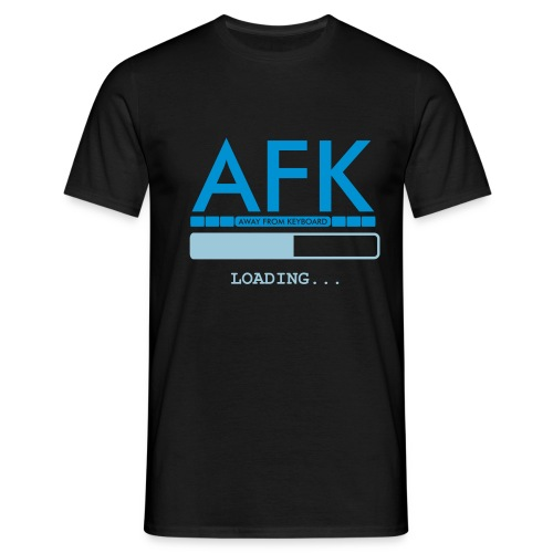 AFK test lol - Herre-T-shirt
