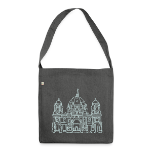 Berliner Dom - Schultertasche aus Recycling-Material