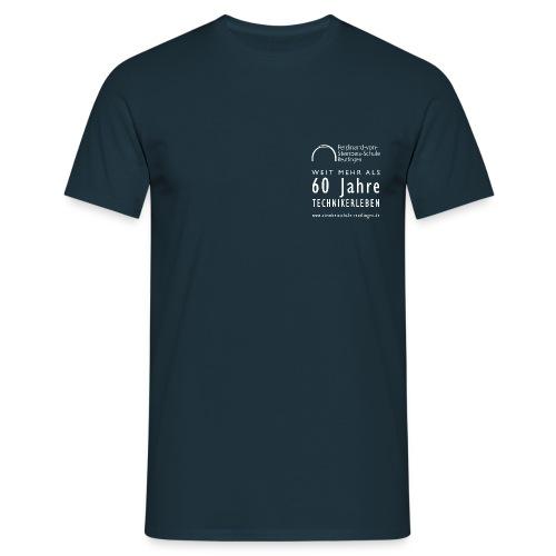 Weit mehr als 60 Jahre TECHNIKERLEBEN - Männer T-Shirt