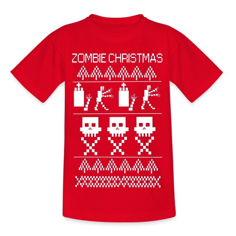 tee shirt pull noel zombiechristmas spreadshirt. Black Bedroom Furniture Sets. Home Design Ideas