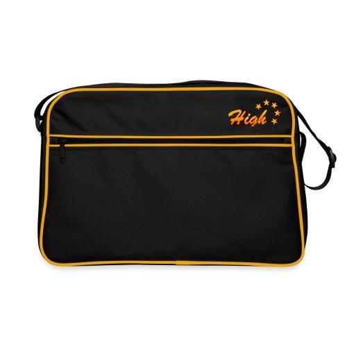 Retro Tasche mit kleinem Logo - Retro Tasche