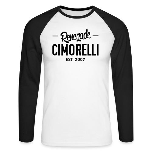 Renegade - Men's Long Sleeve Baseball T-Shirt