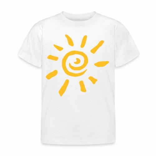 Camiseta niño manga corta sol - Camiseta niño