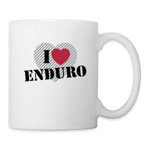 i love enduro - Tasse