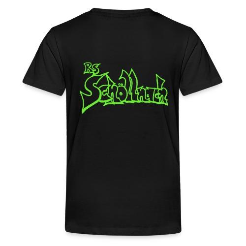 Kinder Premium T-Shirt schwarz (Größe 146/152/158/164) - Teenager Premium T-Shirt