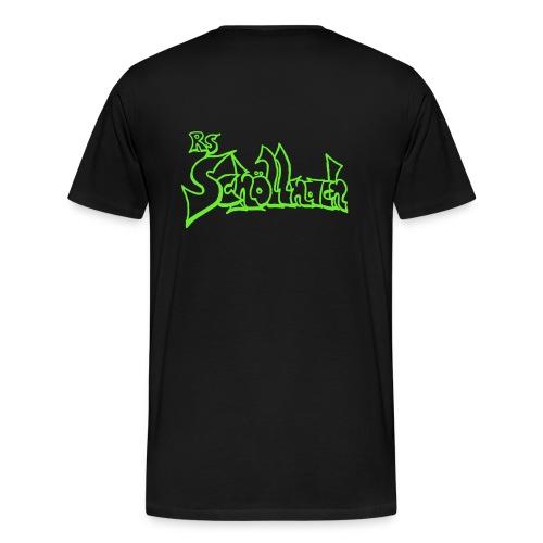 Herren Premium T-Shirt schwarz (Größe S-M-L-XL) - Männer Premium T-Shirt