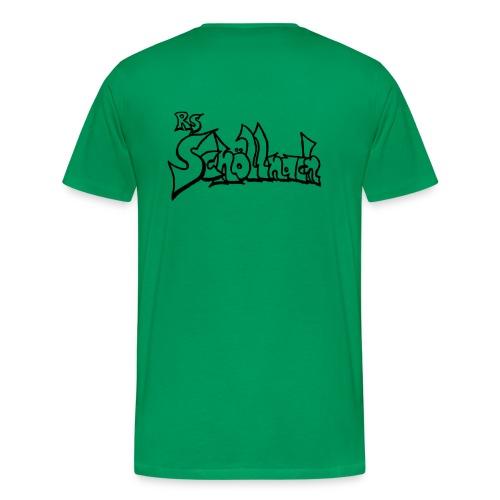 Herren Premium T-Shirt grün (Größe S-M-L-XL) - Männer Premium T-Shirt