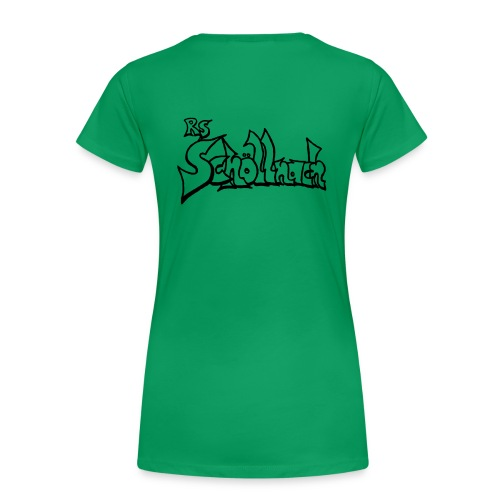Frauen Premium T-Shirt grün (Größe S-M-L-XL) - Frauen Premium T-Shirt